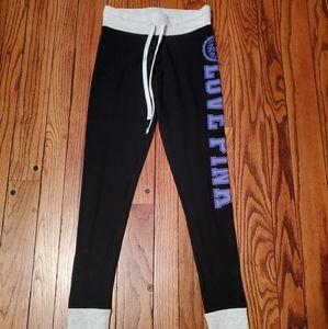 BNWOT! VS PINK Black Legging Yoga Pants XS